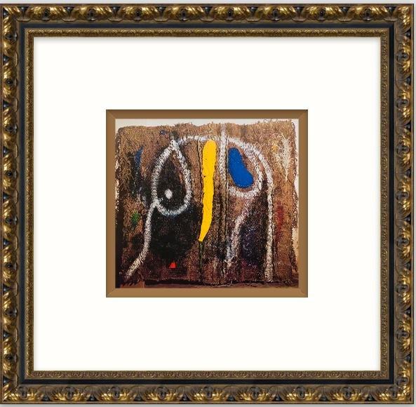 """Original Lithograph """"Sobreteixism""""- Joan Miro"""