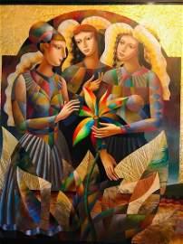Original Painting OLEG Ghivetin