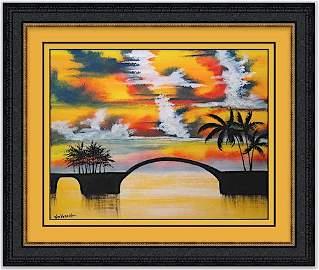 Three Arch Bay by William Verdult 24x30