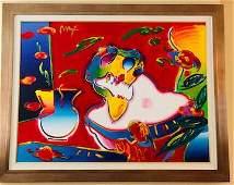 Original Painting-Peter Max
