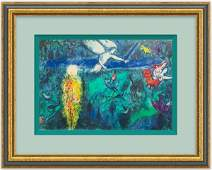 La Genese  SIGNED Lithograph by Marc Chagall