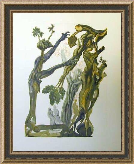 CERTIFIED Salvador Dali Woodblock - Original Perfection