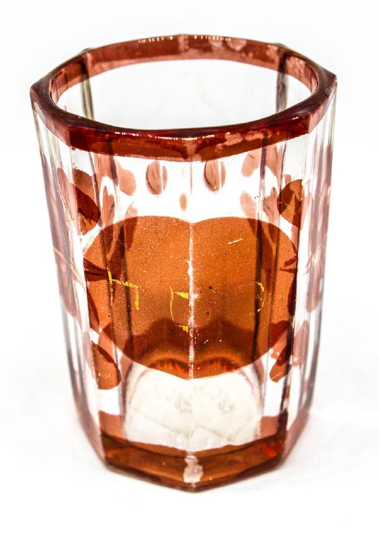Judaica Bohemian Passover cup - 2