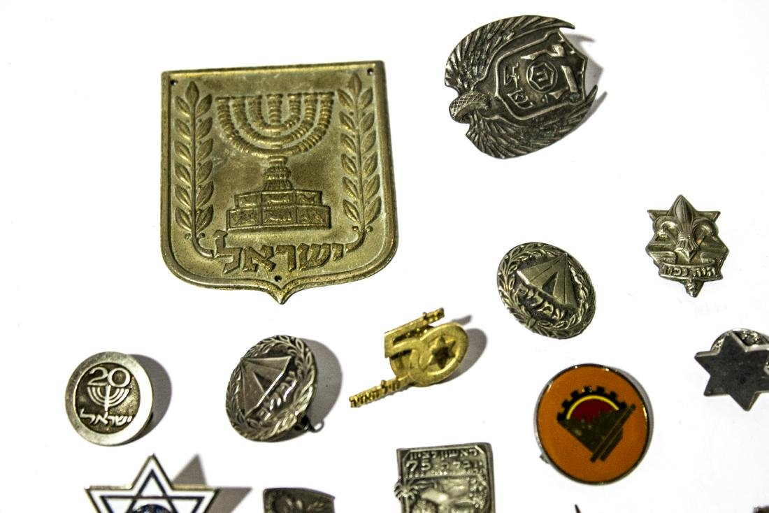 Eighteen different Israeli symbols amongst them A - 3