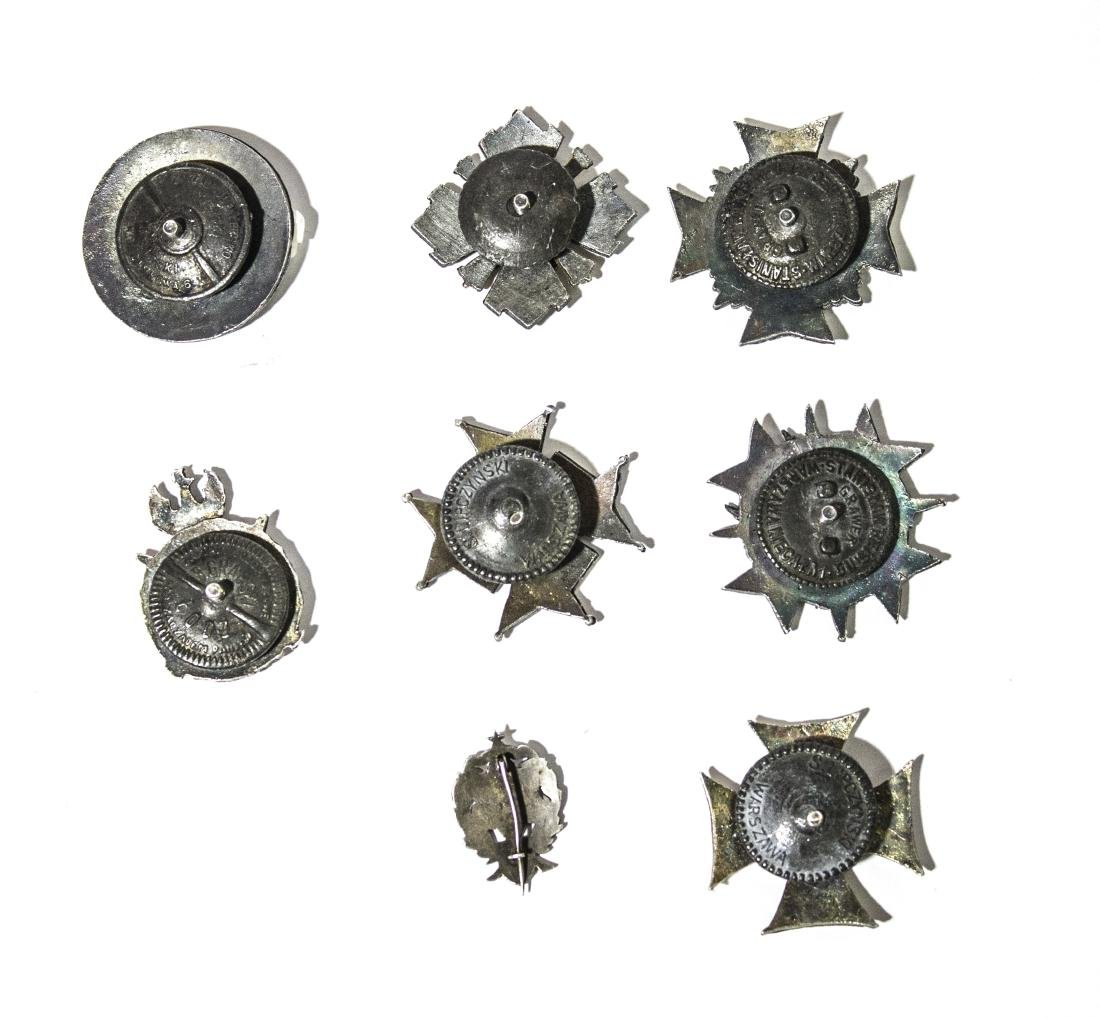 Eight special polish medallions from the first and - 2