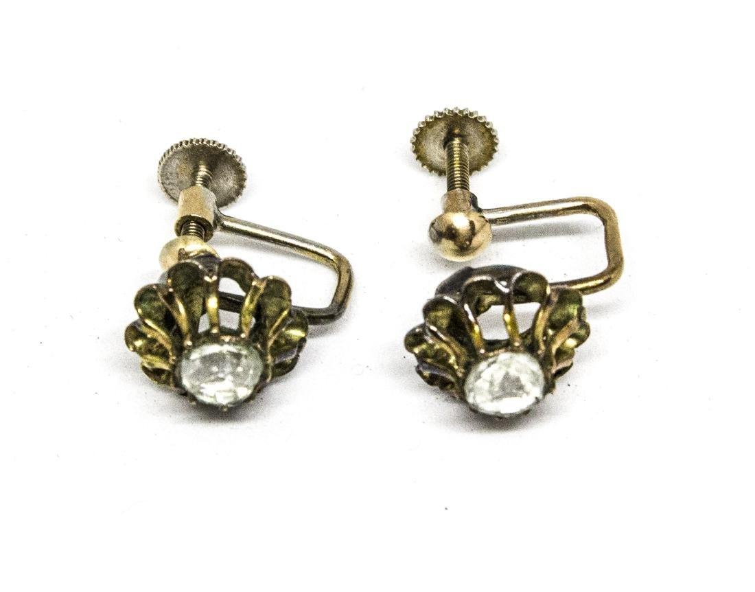 Victorian  diamond earrings.