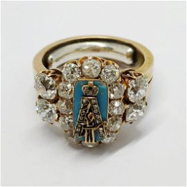 An Important Faberge Imperial workmaster ring