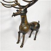 A antice bronze figure