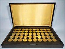 100 years centenaire de l'impressionnisme - 50 medals