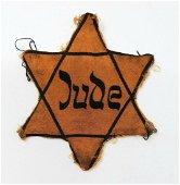 Holocaust Yellow Badge Jewish Clothes Rare Original