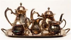 Coffee  Tea Set Sterling Silver