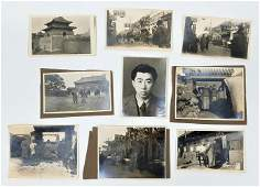 lot of 40 antique photographs of China early 20th cent