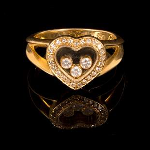 Chopard - Gold Ring Set w/ Diamond