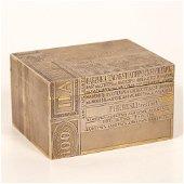 Rare! Cigarette Box, 84 Silver. Moscow, Khlebnikov 1880