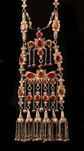 A large and impressive silver ornament ( Saclyk) -