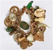Gold Sterling and GoldFilled Bracelet  Charms