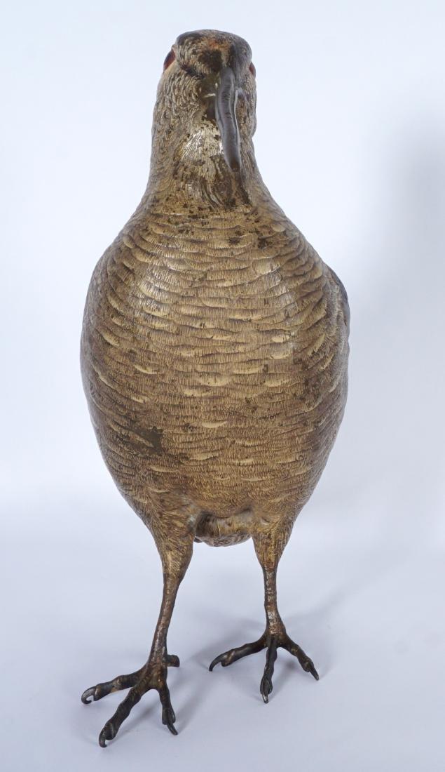 Bergman Austrian Cold Painted Bronze Woodcock - 6