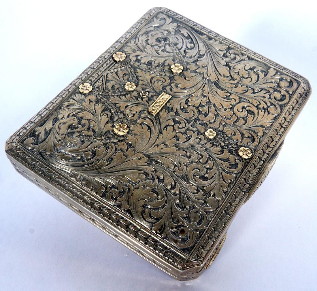 Pavel Ovchinnikov Russian Silver Card Case - 2