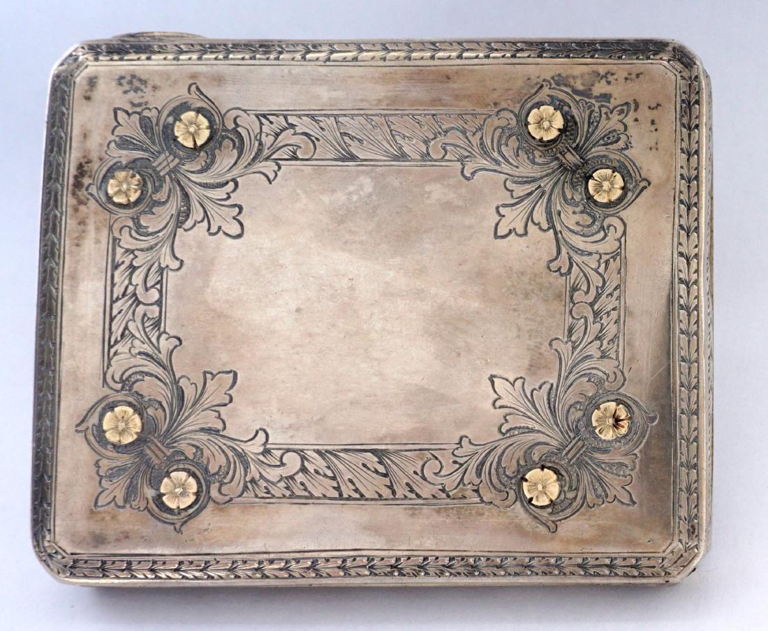 Pavel Ovchinnikov Russian Silver Card Case - 3