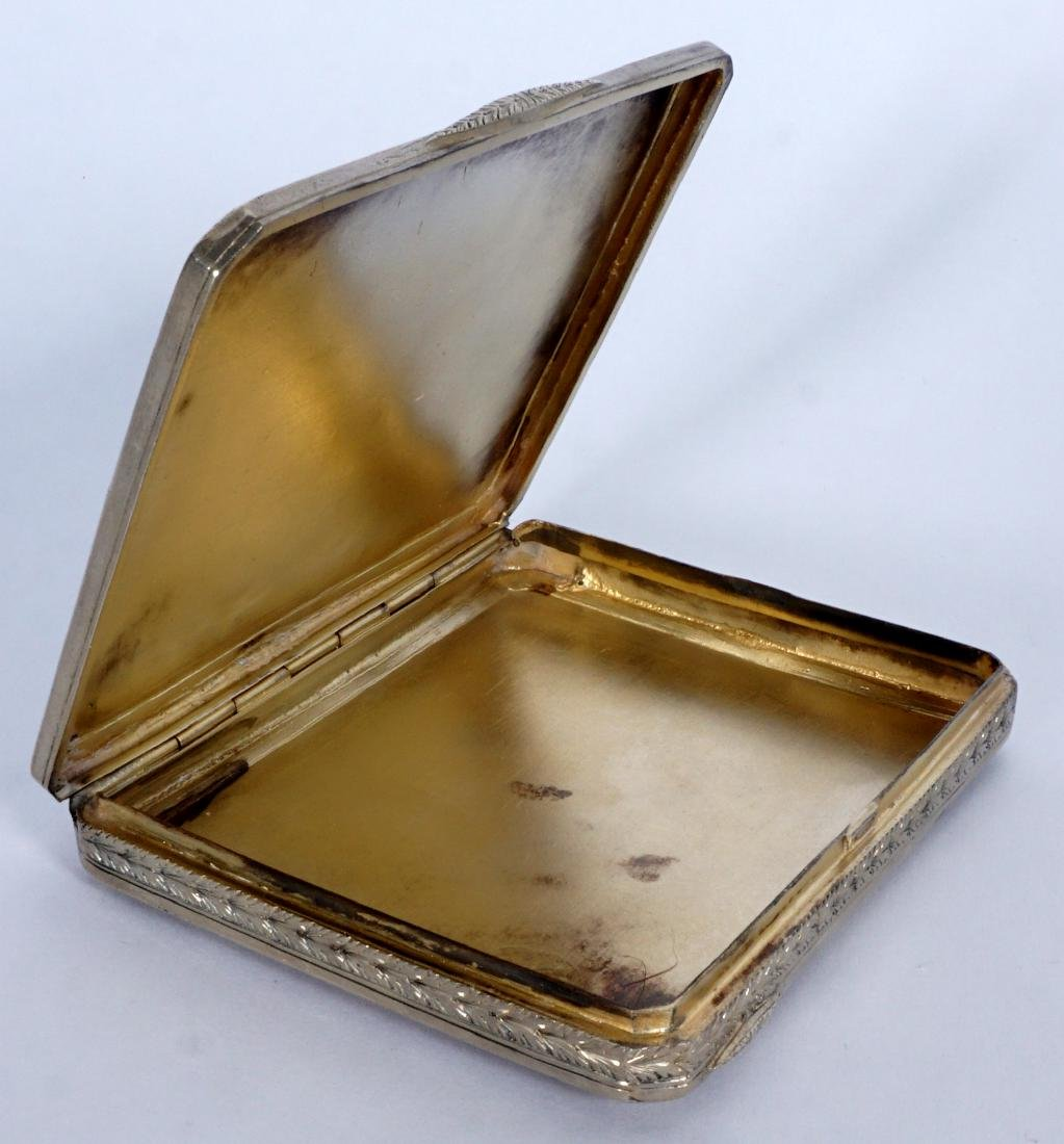 Pavel Ovchinnikov Russian Silver Card Case - 4
