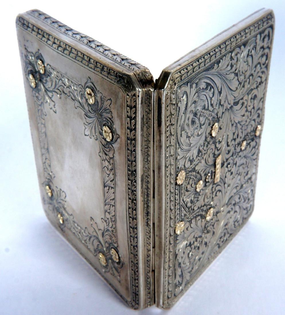 Pavel Ovchinnikov Russian Silver Card Case - 8