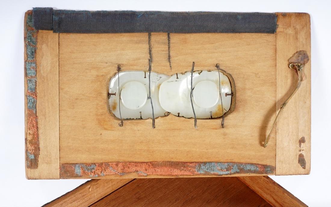 Chinese Qing Carved Jade Belt Hook - 12