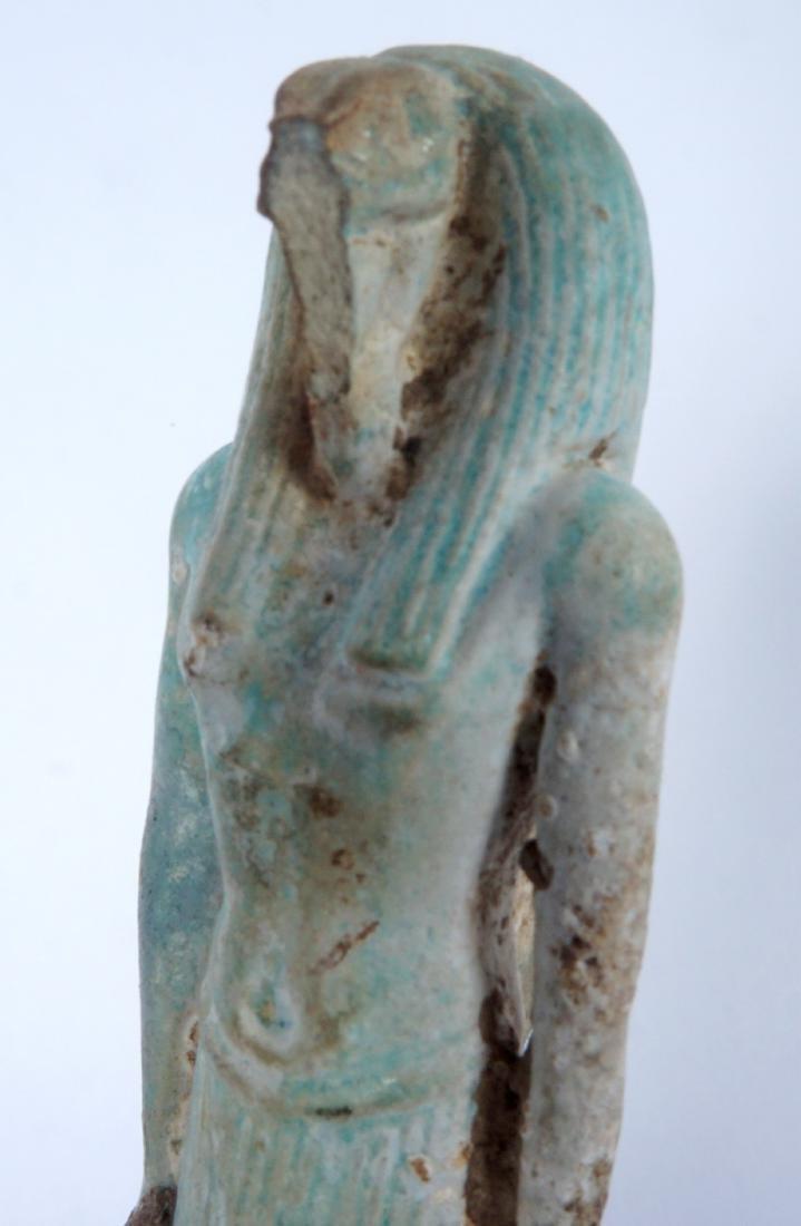 5 Egyptian Ushabti & Thoth Baboon Figure - 7