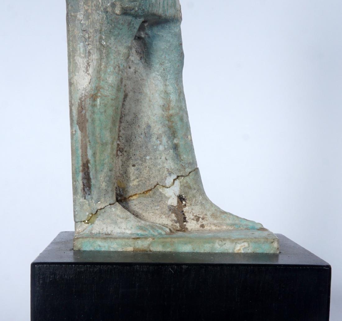 5 Egyptian Ushabti & Thoth Baboon Figure - 8
