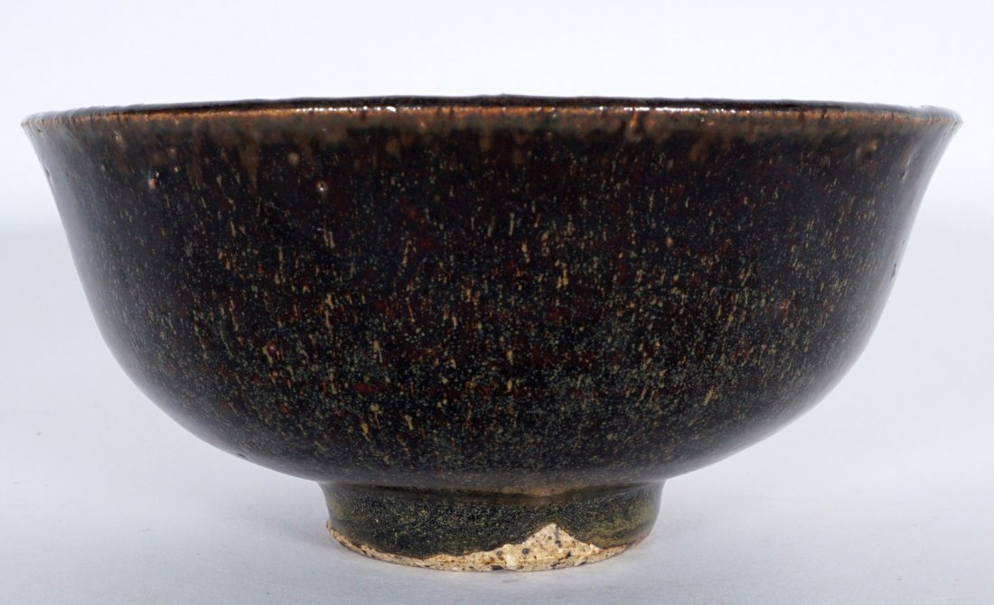 Fine Chinese Song Dynasty Hare's Fur Tea Bowl - 2