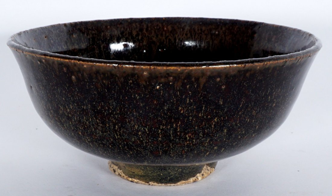 Fine Chinese Song Dynasty Hare's Fur Tea Bowl - 3
