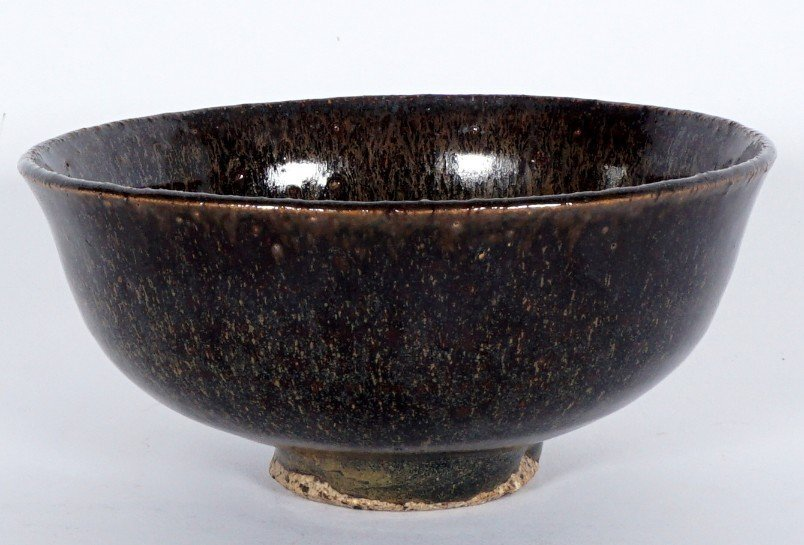 Fine Chinese Song Dynasty Hare's Fur Tea Bowl - 7