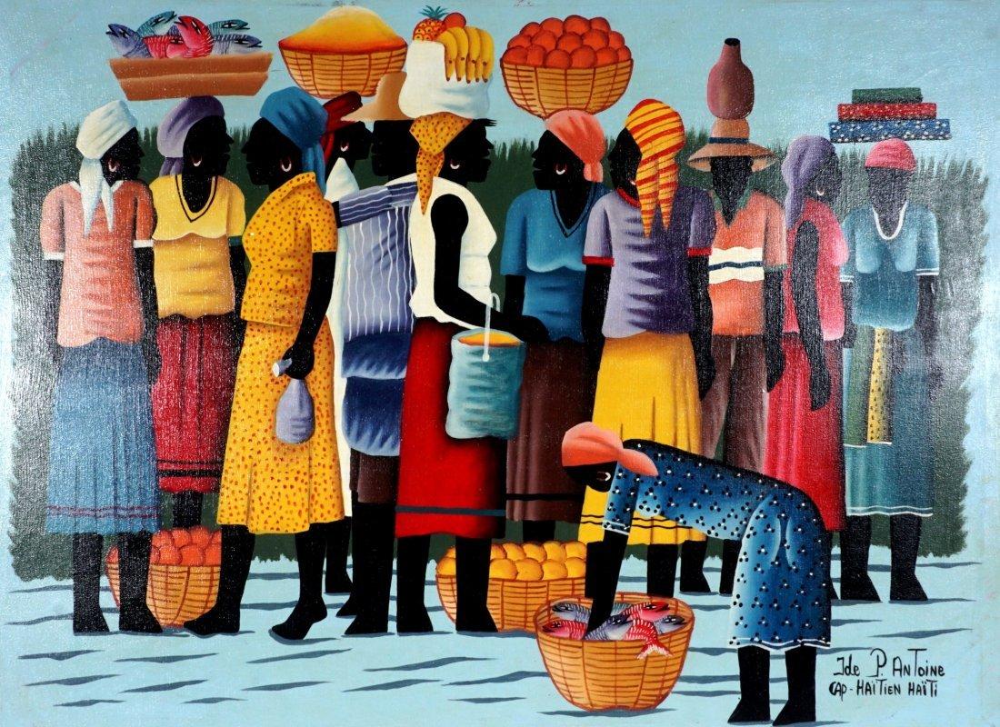 Pierre Antoine Cap Haitien Haitian Painting