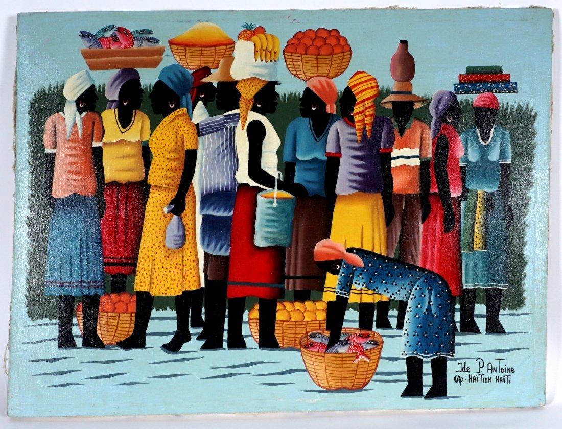 Pierre Antoine Cap Haitien Haitian Painting - 2