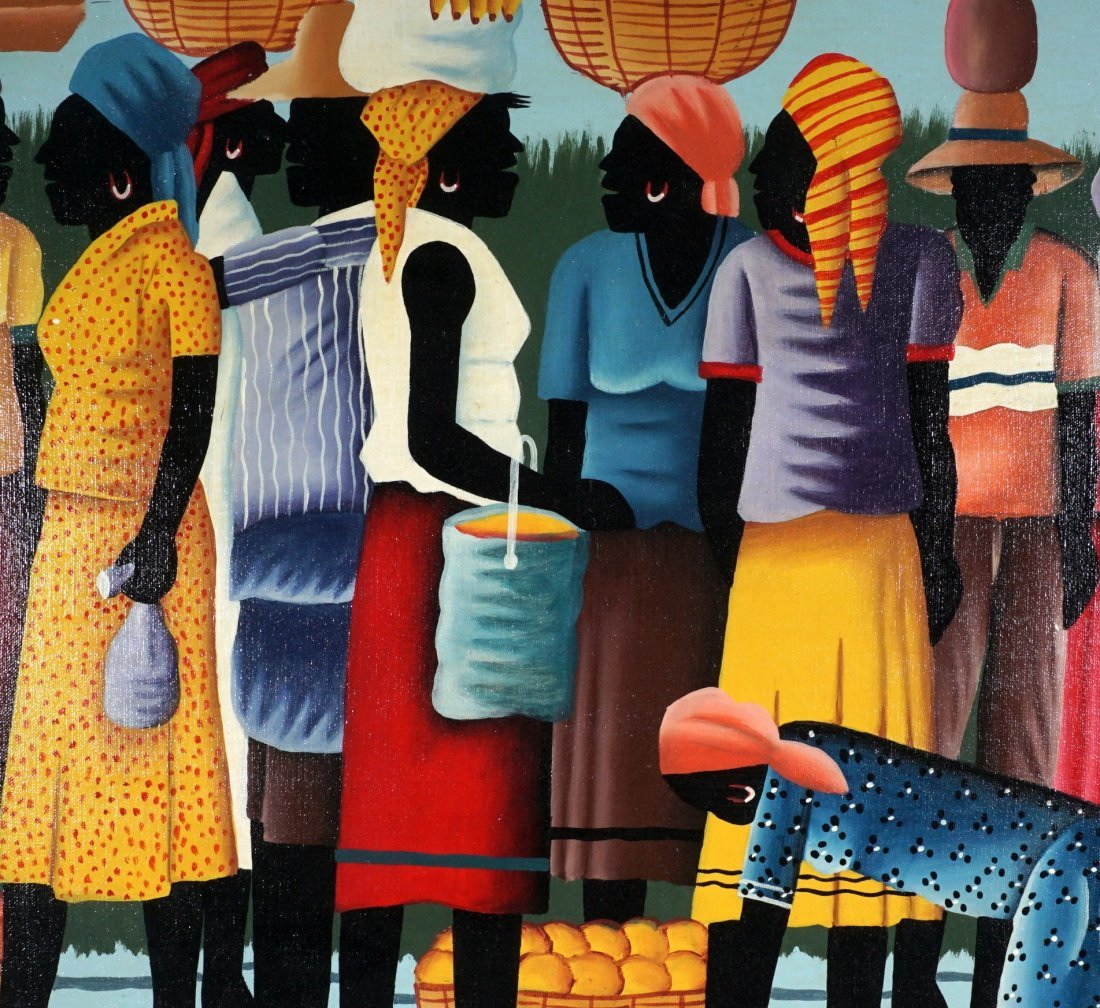 Pierre Antoine Cap Haitien Haitian Painting - 7