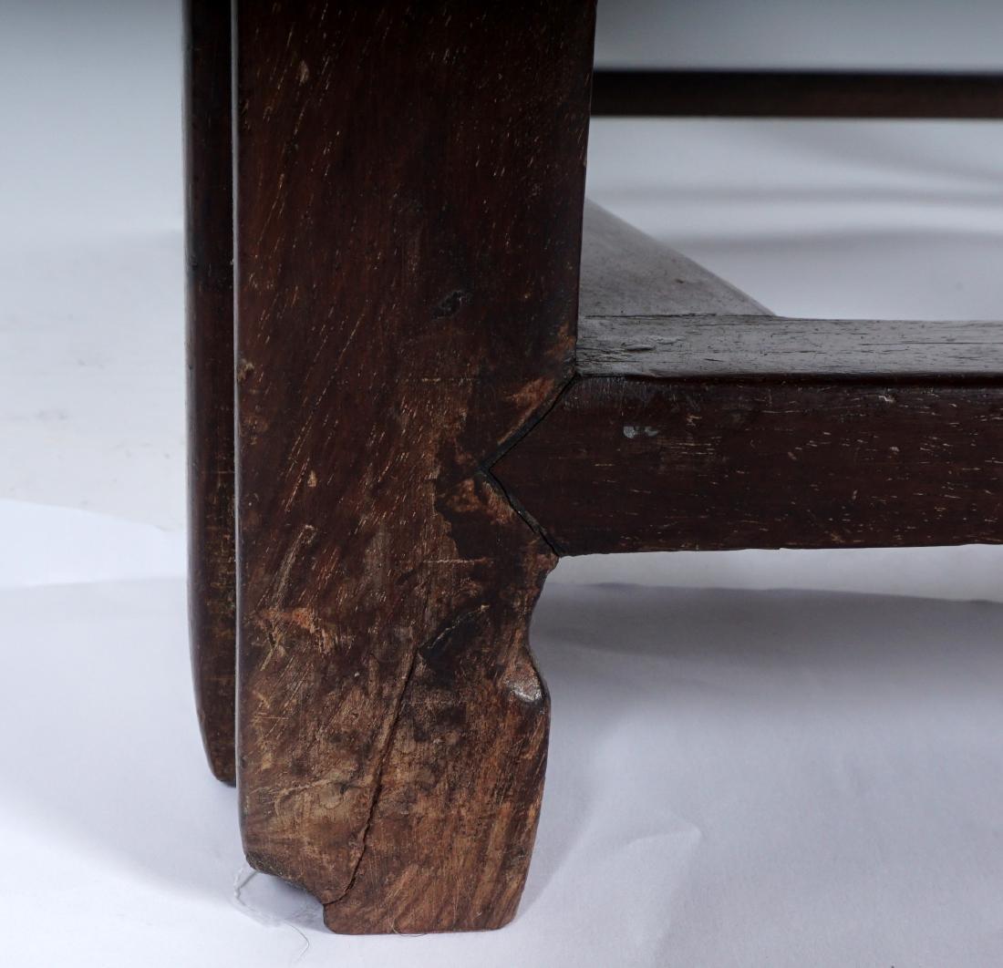 Chinese Hardwood Reclining Lounge Chair - 6