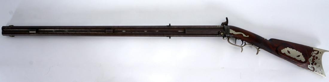Jacob Harder Double Barrel Swivel Breech Rifle