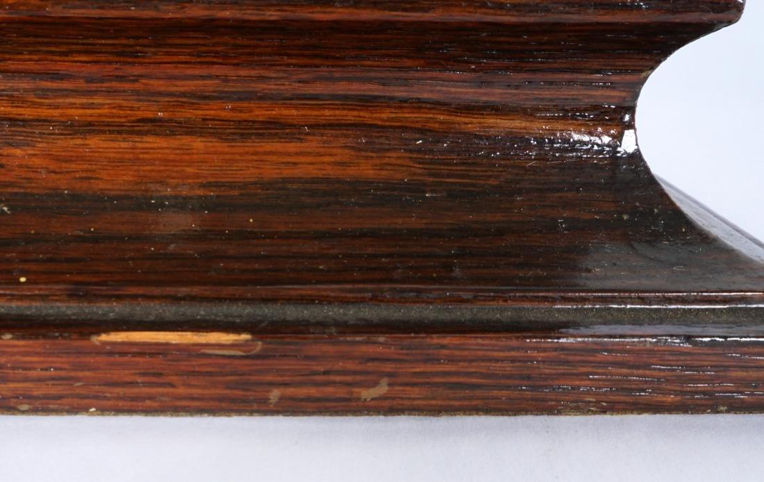 German Black Forest Carved Owl - 6