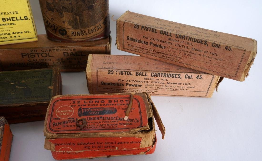 Collection of Antique & Vintage Boxed Ammunition - 3
