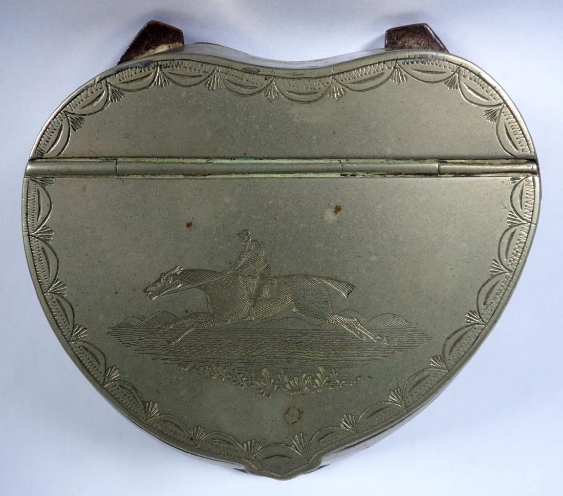 Silverplate Mounted Horse Hoof Inkwell - 3
