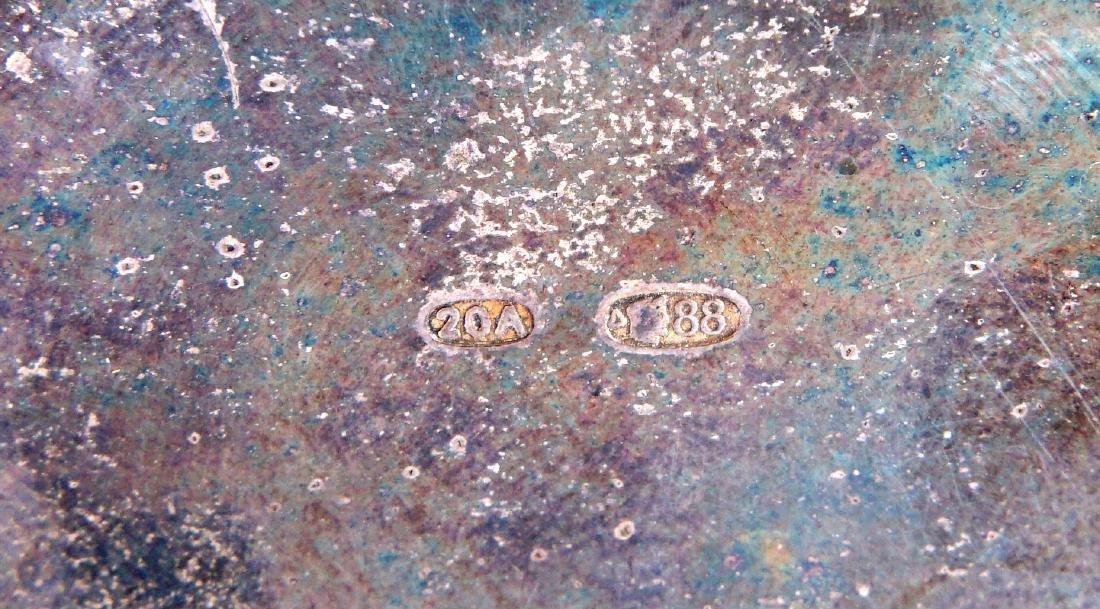 Russian Silver Enameled 20th Artel Snuff Box - 8