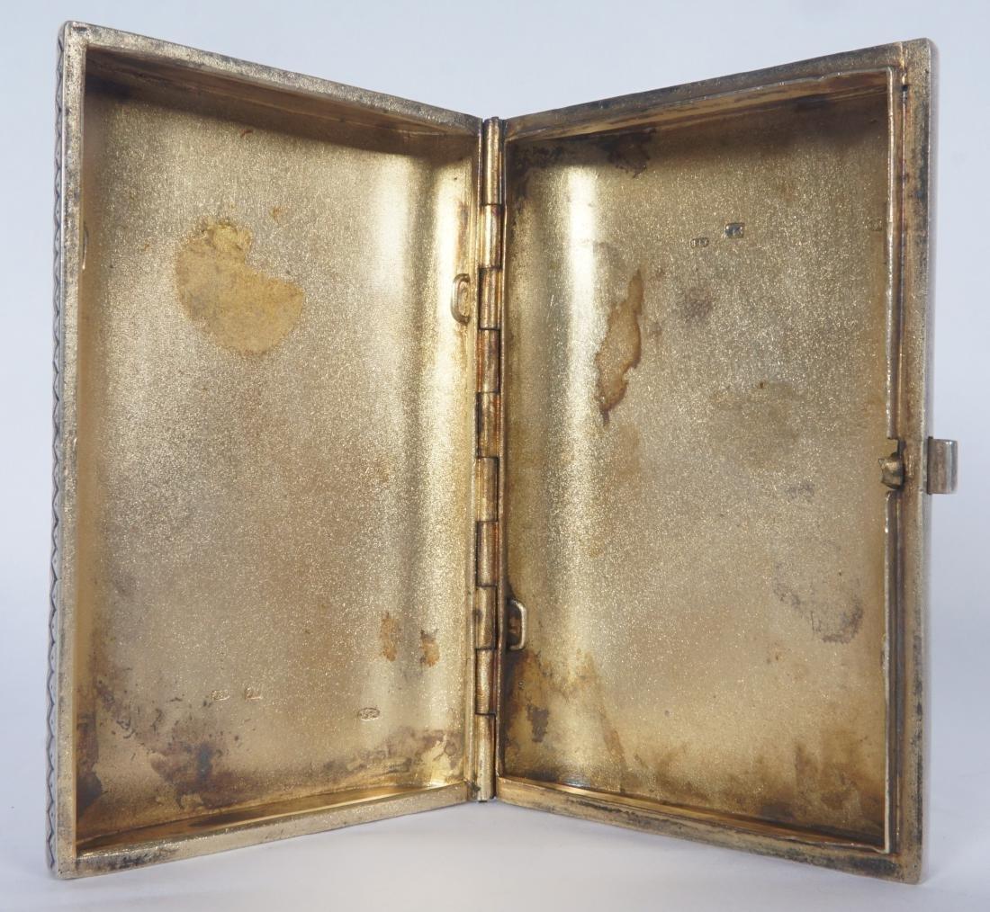 Russian Silver Enamel Cigarette Case - 5