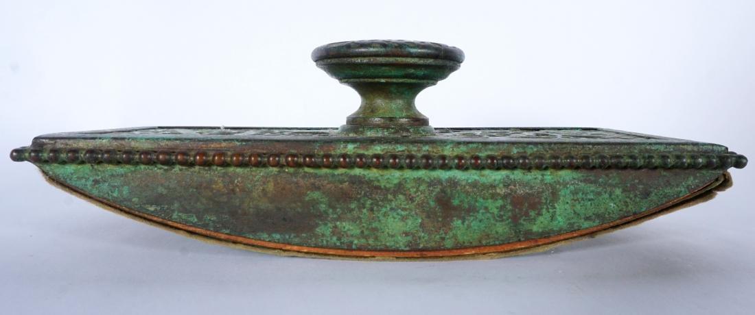 Tiffany Studios Bronze Grapevine Ink Blotter - 5
