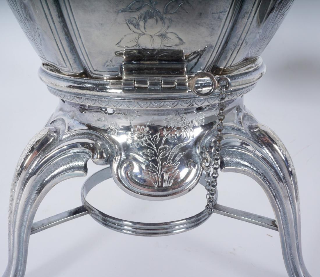 French Touron 5 Piece Silver Tea Service - 5