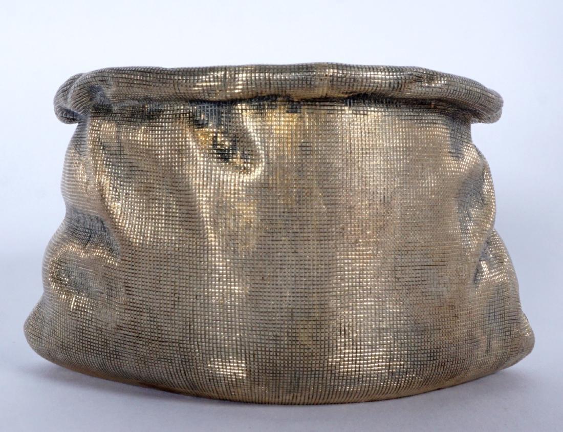 Russian Silver Trompe L'oeil Bag - 2