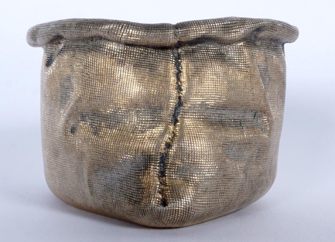 Russian Silver Trompe L'oeil Bag - 3