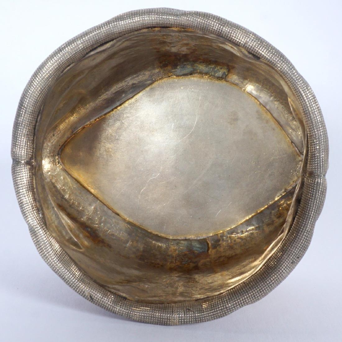 Russian Silver Trompe L'oeil Bag - 5