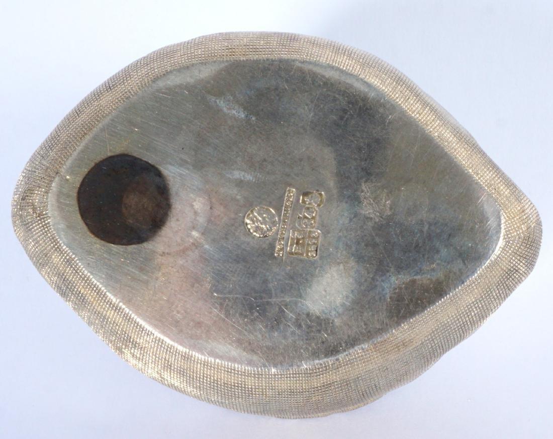 Russian Silver Trompe L'oeil Bag - 6