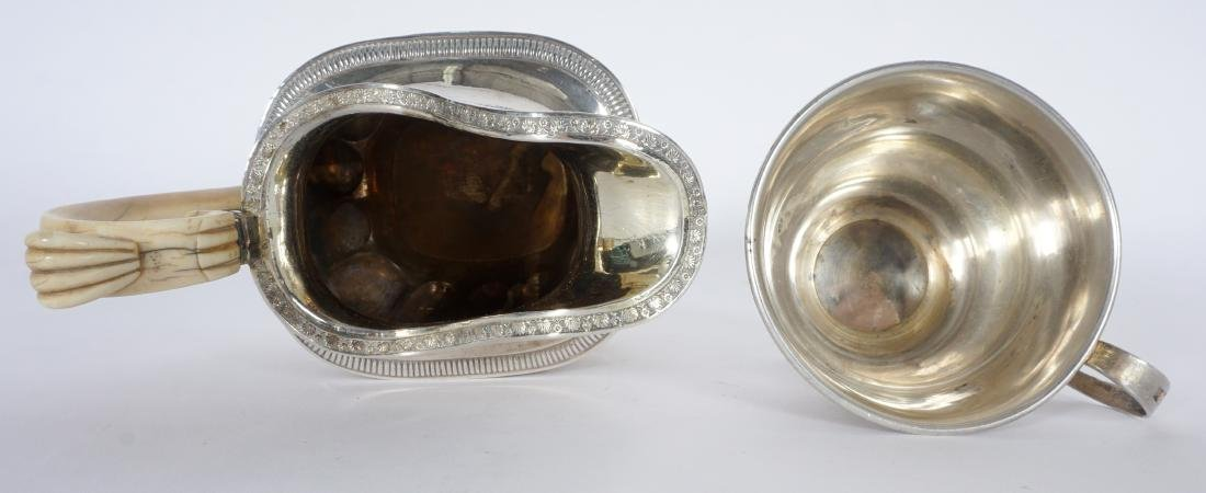 2 piece Russian Silver Table Items - 6