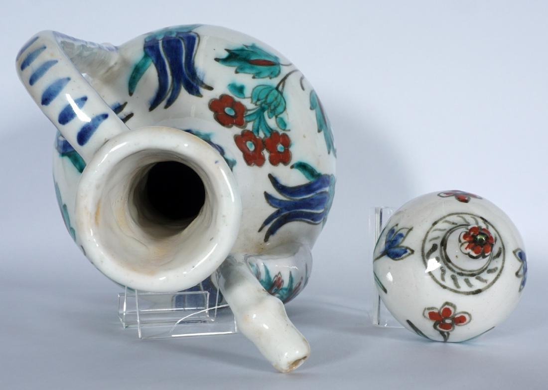 Persian Pottery Teapot - 7