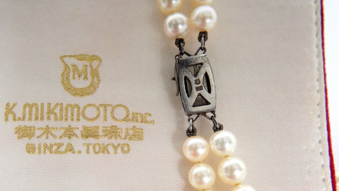Mikimoto Pearl Suite Necklace and Earrings - 4
